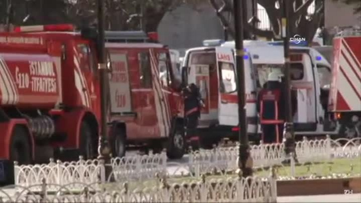 Explosão em Istambul