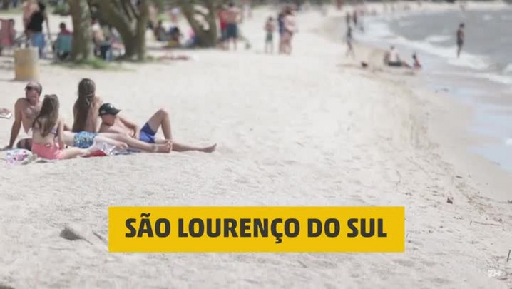 A tranquilidade de São Lourenço do Sul