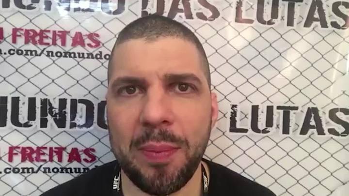 Caju Freitas: Nova York ser� um marco para o MMA