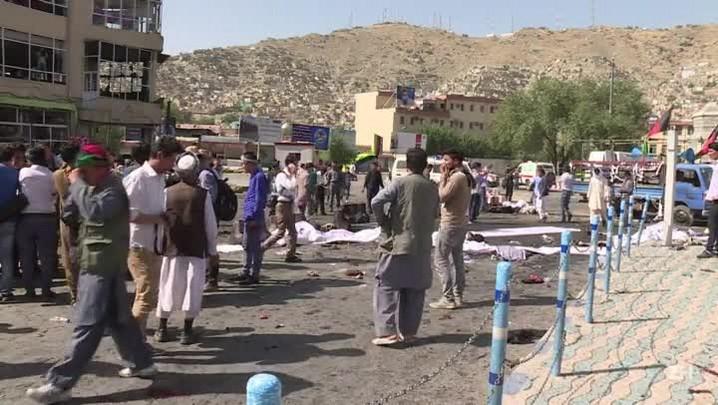 Dezenas de mortos em atentado em Cabul