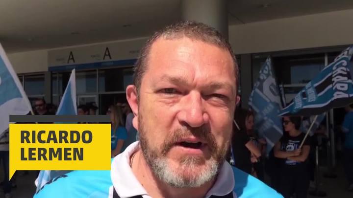 Ricardo Lermen pergunta ao novo presidente do Grêmio quando a Arena será do clube