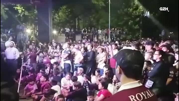 Como a torcida do Lanús acompanhou o jogo na Argentina