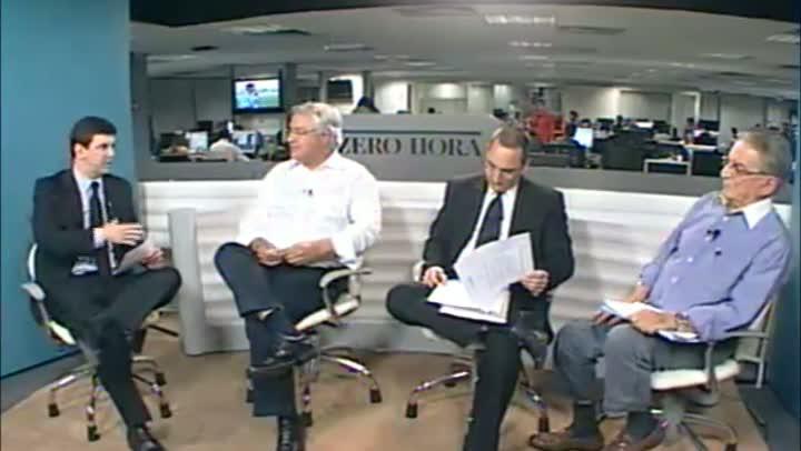 Candidatos à presidência do Grêmio debatem a gestão no biênio 2013/2014