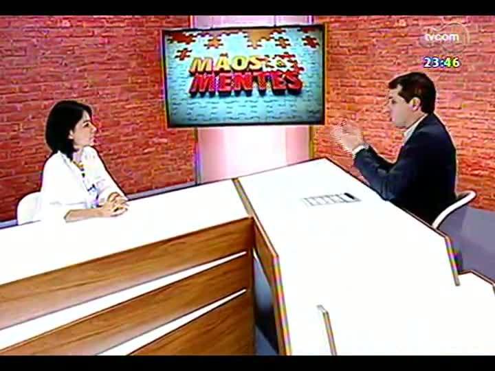 Mãos e Mentes - Gabriela Ferreira, diretora de Inovação e Desenvolvimento do Tecnopucrs - Bloco 2