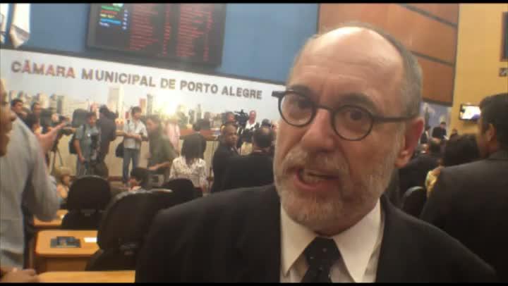 A expectativa de Pedro Ruas (PSOL) para mais quatro anos de mandato como vereador