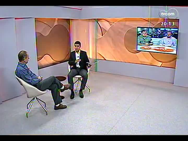 TVCOM 20 Horas - Discussão sobre pontos da cidade que são mais visados pelos bandidos - Bloco 2 - 18/04/2013