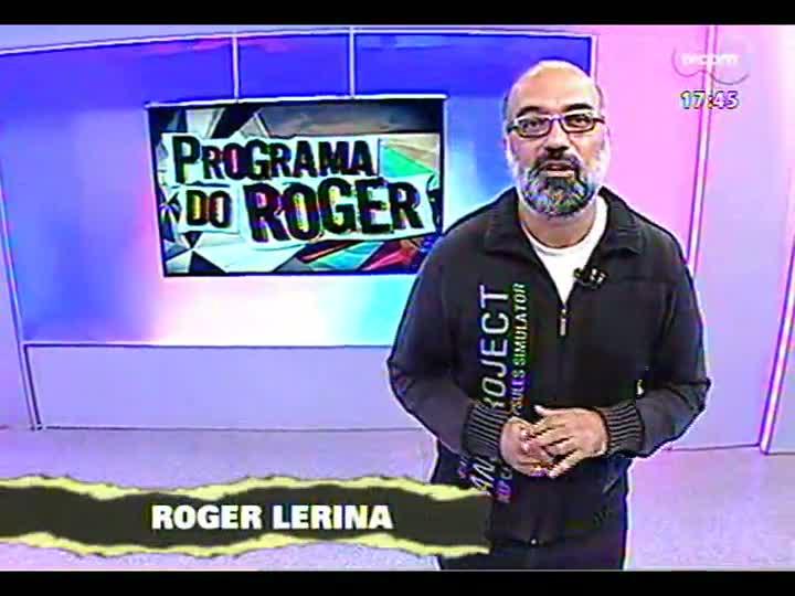 Programa do Roger - Conheça o projeto para novo disco de Nei Lisboa - bloco 1 - 10/05/2013