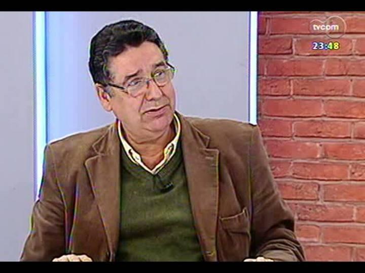 Mãos e Mentes - Consultor de Língua Portuguesa de todo o Sistema Globo de Comunicação, professor Sérgio Nogueira - Bloco 2 - 14/06/2013