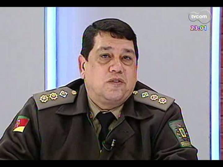Mãos e Mentes - Diretor do Presídio Central de Porto Alegre, tenente-coronel Osvaldo da Silva - Bloco 1 - 23/06/2013