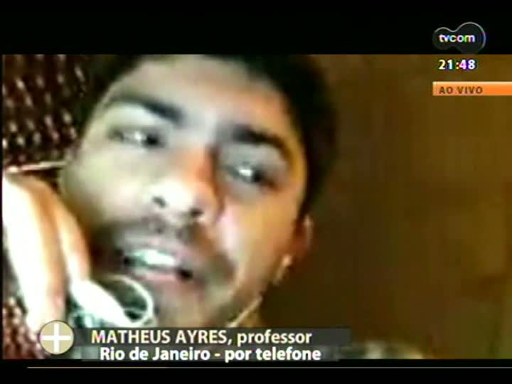 TVCOM Tudo mais - Professor Matheus Ayres avalia a JMJ