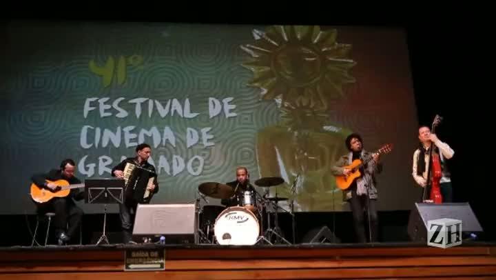 Nova trilha do 41º Festival de Gramado é apresentada na abertura