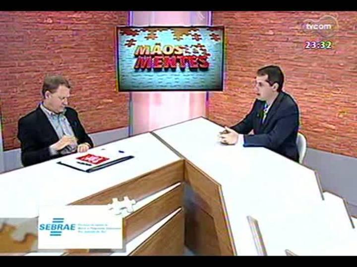 Mãos e Mentes - Diretor executivo do Instituto Vonpar, Léo Voigt - Bloco 1 - 16/08/2013
