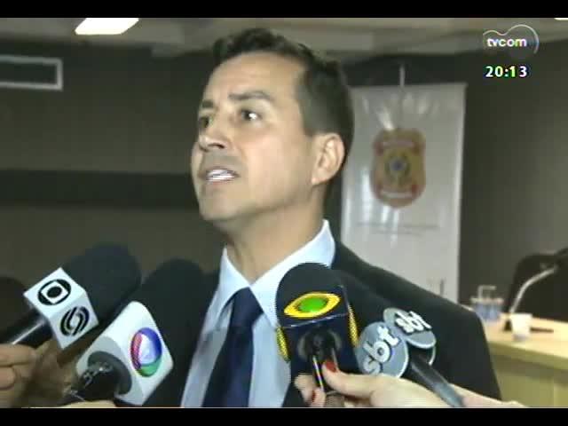 TVCOM 20 Horas - Saiba mais sobre a operação policial que é antecipada para evitar morte de auditor fiscal - Bloco 2 - 31/10/2013