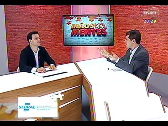 Mãos e Mentes - Neto do ex-presidente Jango, Christopher Goulart - Bloco 3 - 24/11/2013