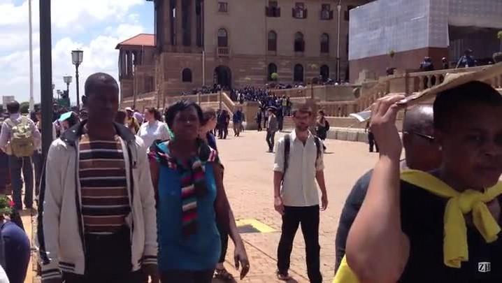 Veja o local em que está o corpo de Nelson Mandela