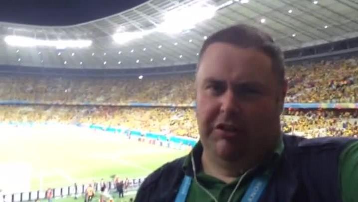 Gigante na Copa: a galera do Brasil fez a festa no Castelão