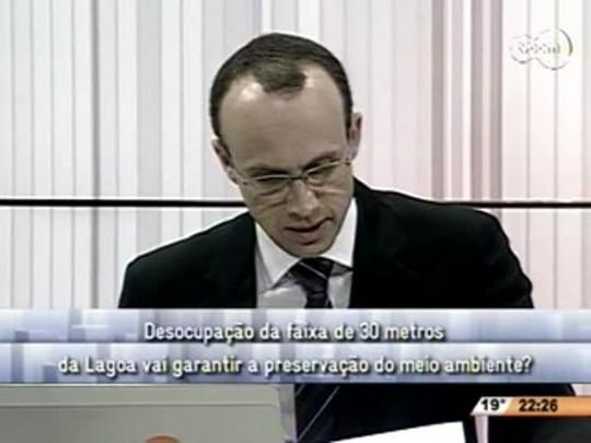 Conversas Cruzadas - Justiça Federal sobre os imóveis a 30 metros da Lagoa da Conceição - 2ºBloco - 22.07.14