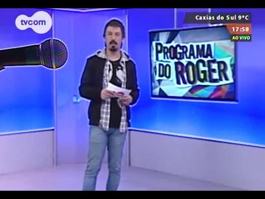 """Programa do Roger - Entrevista com Mariana Ximenes e Armando Babaioff sobre o filme \""""Mãos de Cavalo\"""" - Bloco 2 - 25/08/2014"""