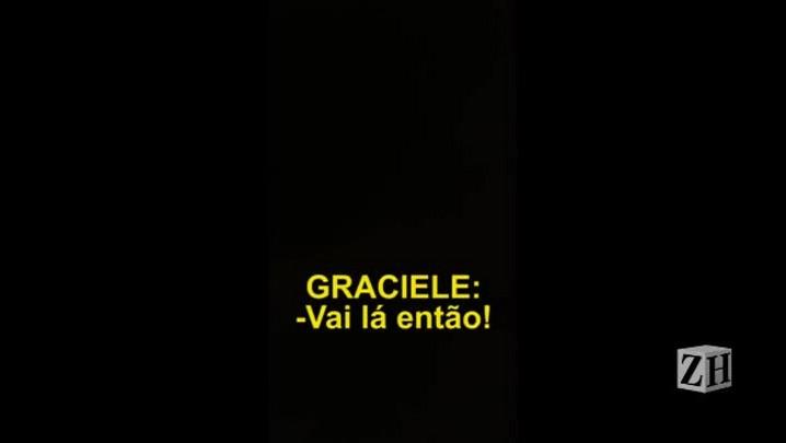 """6. Graciele chama Bernardo de """"cagão"""""""