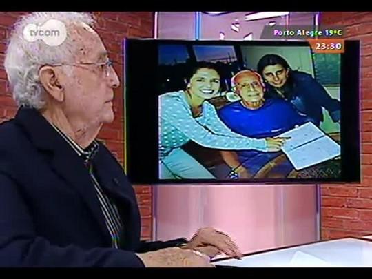 Mãos e Mentes - Radialista, apresentador de TV e narrador Celestino Valenzuela - Bloco 3 - 14/09/2014