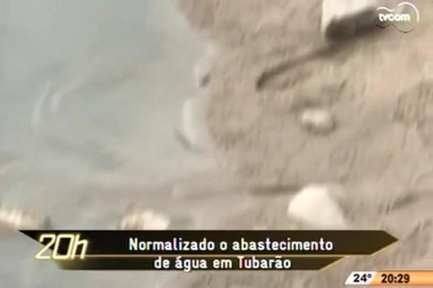 TVCOM 20h - Normalizado abastecimento de àgua em Tubarão - 1.12.14