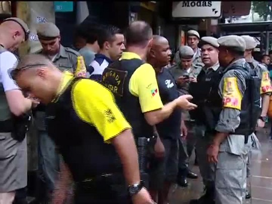 TVCOM 20 Horas - Tiroteio no centro da capital - 20/01/15