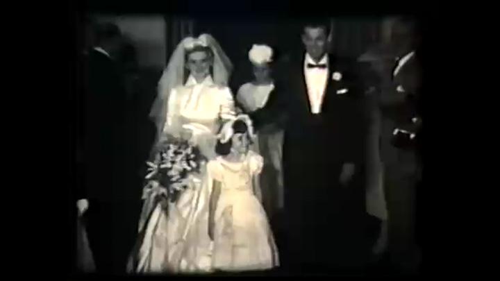Memória: primeiro vídeo de casamento filmado em Caxias foi em 1958