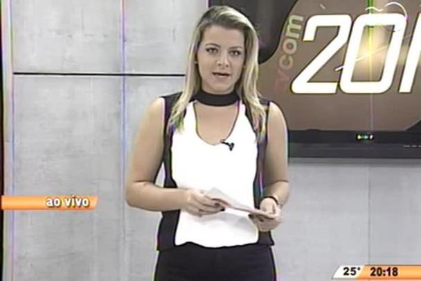 TVCOM 20 Horas - Trânsito vai ter alterações durante obras do elevado Rio Tavares - 04.06.15