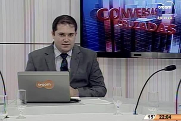 Conversas Cruzadas - A situação do PT dentro do Brasil - 1º Bloco - 25.06.15