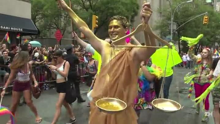 Orgulho gay: multidão festeja em NY vitória na Suprema Corte