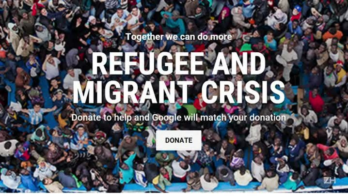Google lança campanha para ajudar refugiados