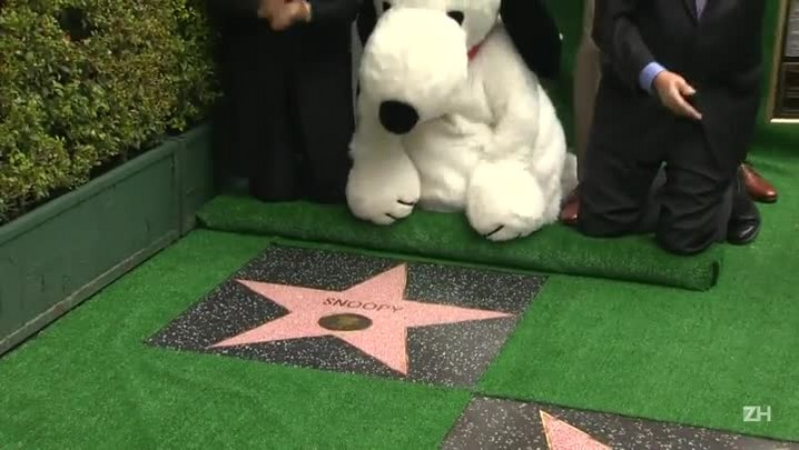 Snoopy na calçada da fama