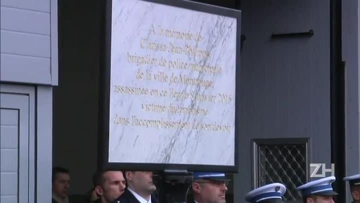 França homenageia policial assassinada