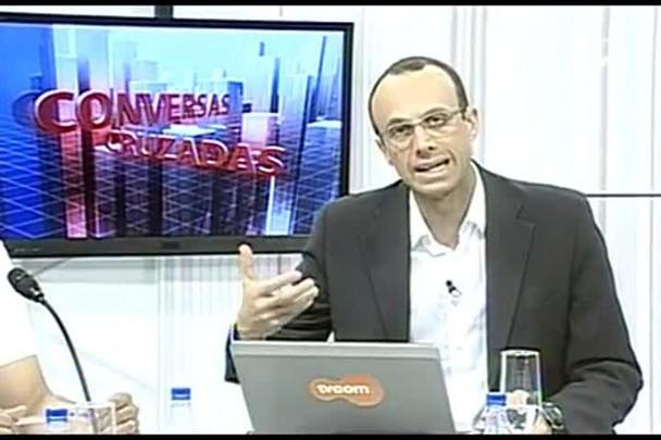 TVCOM Conversas Cruzadas. 3º Bloco. 26.05.16