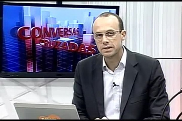 TVCOM Conversas Cruzadas. 3º Bloco. 12.07.16