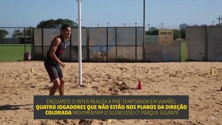 Os separados: a rotina dos jogadores do Inter no CT Parque Gigante