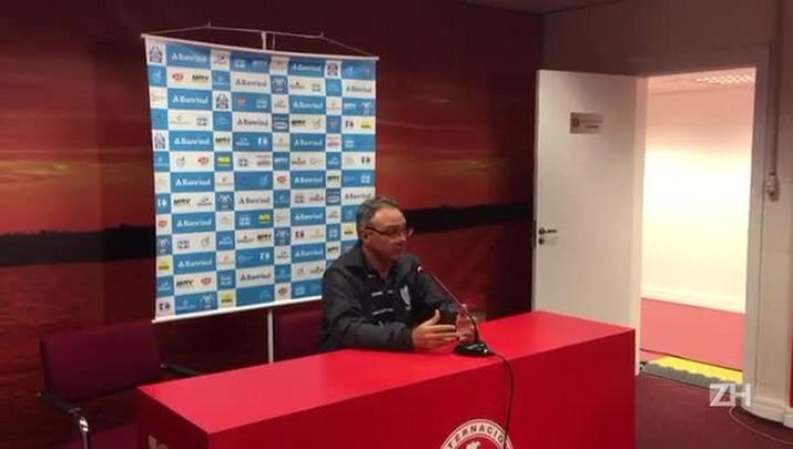 Beto Campos fala após empate no Beira-Rio