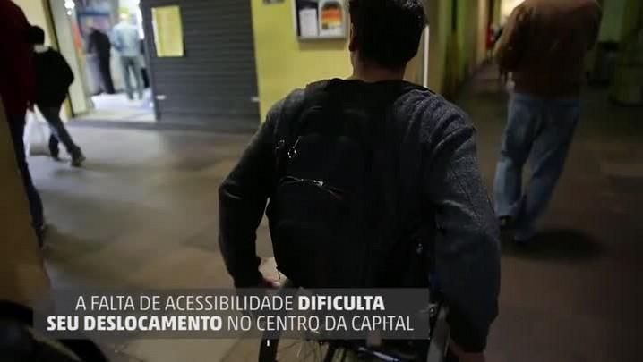 Porto Alegre inacessível - com audiodescrição