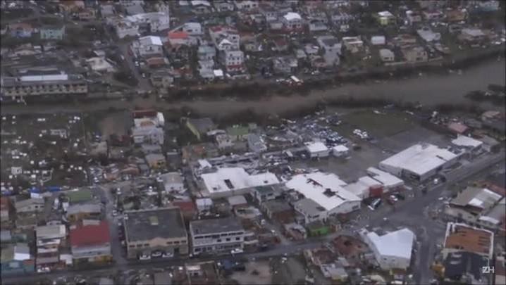Irma deixa oito mortos e 21 feridos em St. Martin