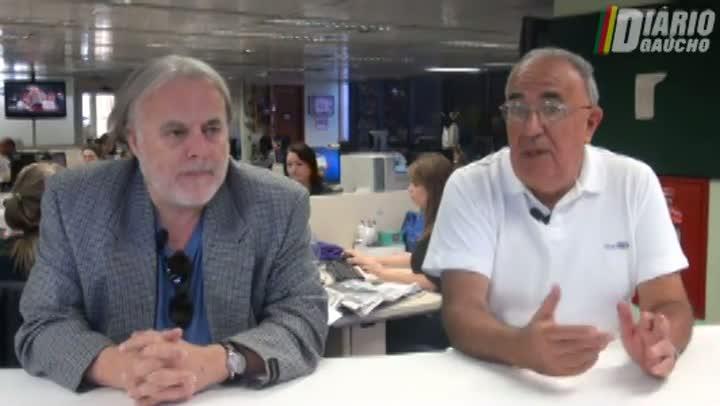Kenny Braga e Cacalo revelam suas expectativas para o Gre-Nal de domingo