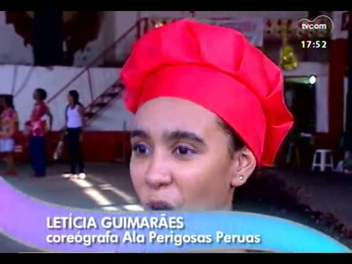 Personagens da Folia - Aderney Novaes Ramos, fundador e presidente da ala Perigosas Peruas, da Imperadores do Samba - bloco 3
