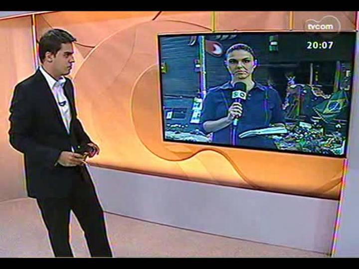 TVCOM 20 Horas - Nova perícia na boate Kiss, de Santa Maria - Bloco 1 - 31/01/2013