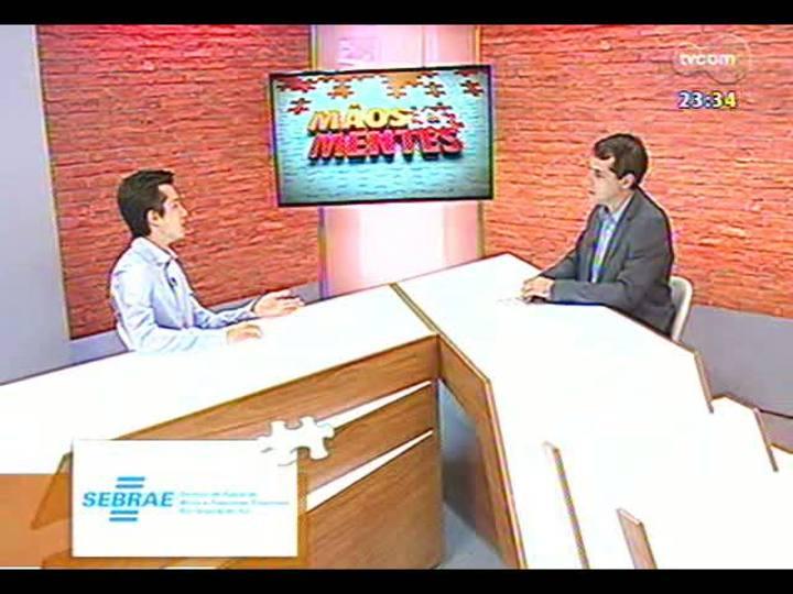 Mãos e Mentes - Presidente da AIESEC, Luiz Otavio Gemeli - Bloco 1 - 06/02/2013