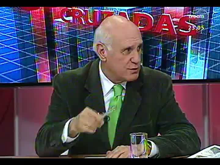 Conversas Cruzadas - As dificuldades para o metrô de Porto Alegre sair do papel - Bloco 4 - 16/04/2013