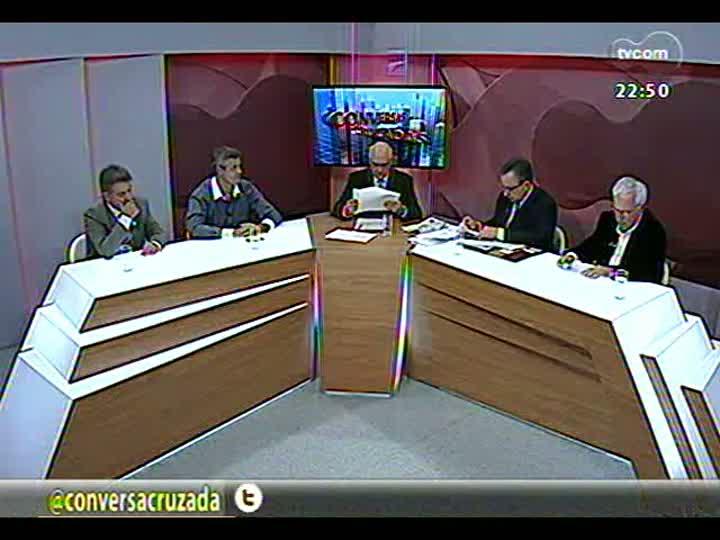 Conversas Cruzadas - As dificuldades para o metrô de Porto Alegre sair do papel - Bloco 3 - 16/04/2013