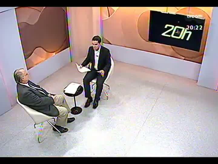 TVCOM 20 Horas - Deputado federal Roberto Freire fala sobre a criação do partido Mobilização Democrática - Bloco 3 - 17/05/2013