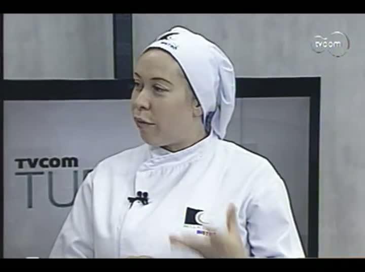 TVCOM Tudo Mais - Quadro Gastronomia - 4º Bloco – 28-08-2013