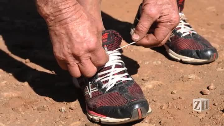 Aos 69 anos, gaúcho corre 20 quilômetros por dia