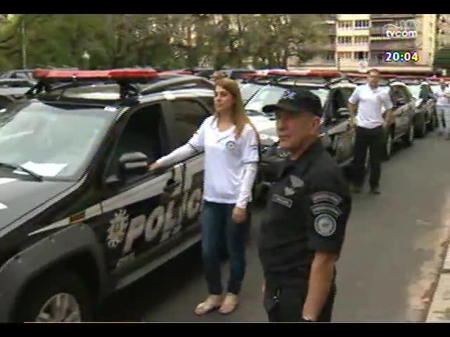 TVCOM 20 Horas - \'Soltos para o crime\': 22 ladrões e traficantes foram soltos por dia das cadeias gaúchas em 2012 - Bloco 1 - 17/10/2013