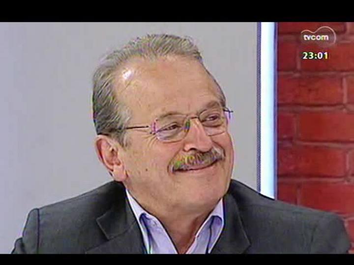 Mãos e Mentes - Aniversário de um ano: entrevista com o primeiro entrevistado do programa, governador Tarso Genro - Bloco 1 - 03/11/2013